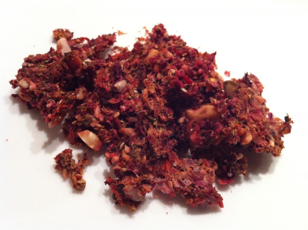 zelfgemaakte pellets